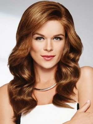 Classic Lace Front Synthetic Wavy Wig