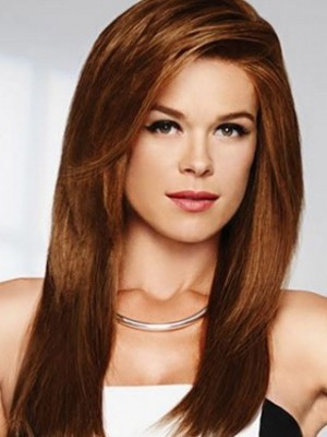 Charming Lace Front Synthetic Straight Wig