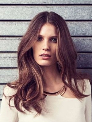 Beautiful Lace Front Wavy Synthetic Wig
