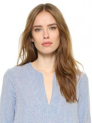 Marvelous Lace Front Straight Remy Human Hair Wig