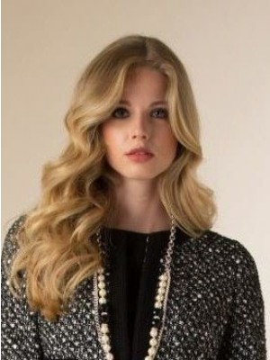 Smooth Remy Human Hair Wavy Lace Front Wig