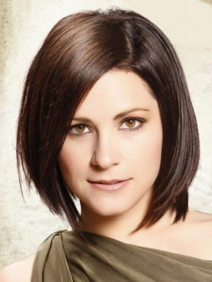 Bob Layered Hairstyle Lace Front Wig For Woman