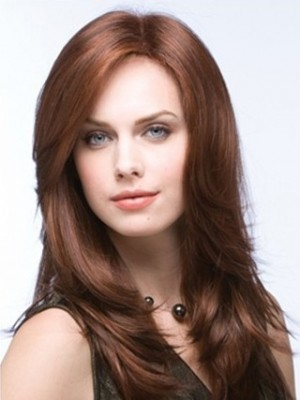 Natural Straight Full Lace Wig For Woman