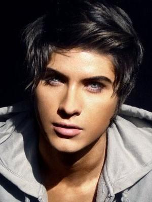 Gorgeous Full Lace Short Human Hair Men Wig