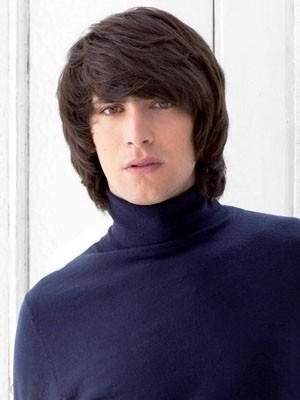 Elaborately Capless Straight Human Hair Wig