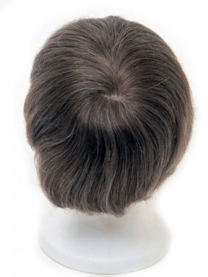 Full Lace Human Hair Mens Toupee