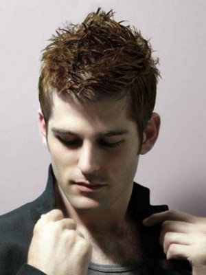 Super Cool Men's Full Lace Human Hair Mens Wig