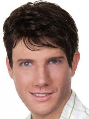 Attractive Straight Lace Front Synthetic Wig