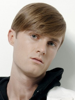 Short Straight Impressive Human Hair Mens Wig