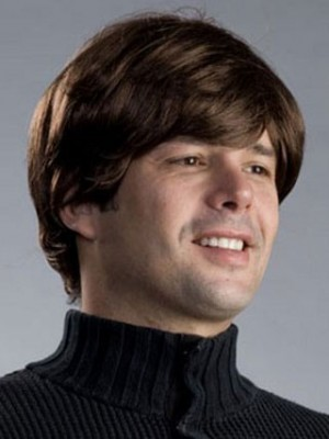 Beatles George Harrison Style Synthetic Mens Wig