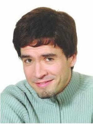 Short Synthetic Full Head Mens Wig