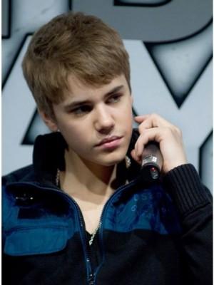 100% Capless Bieber's Hair Style Mens Wig