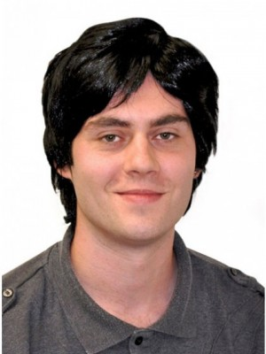 Absolutely Natural Straight Mens Wig