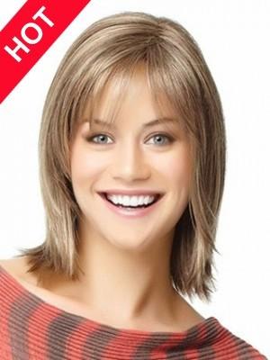 Popular Shoulder Length Human Hair Wig