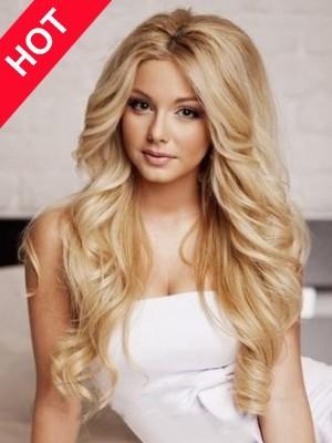 Long Wavy Fabulous Human Hair Wig