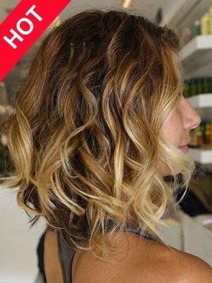 Discount Wavy Human Hair Wig