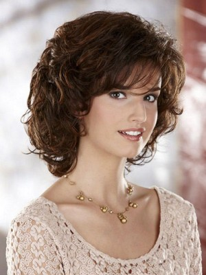 Fabulous Medium Length Synthetic Wig