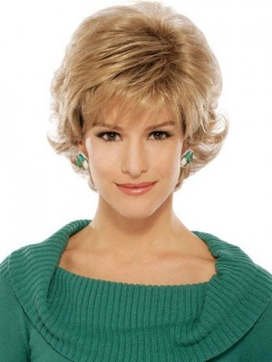 Chic Short Wavy Synthetic Wig