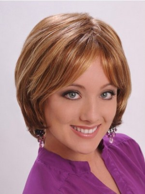Chic Straight Capless Synthetic Wig