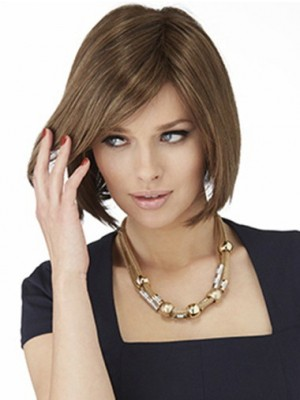 Pleasant Straight Lace Front Synthetic Wig