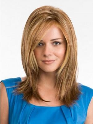 Elegante Long Straight Synthetic Wig