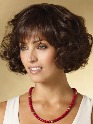 Affordable Wavy Capless Synthetic Wig