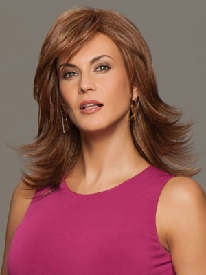 Wonderful Lace Front Straight Synthetic Wig