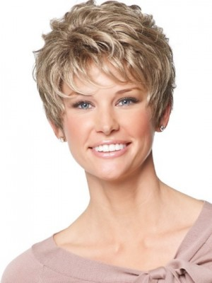 Fashion Capless Wavy Synthetic Wig