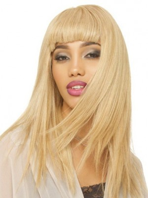 TopQuality Capless Straight Synthetic Wig