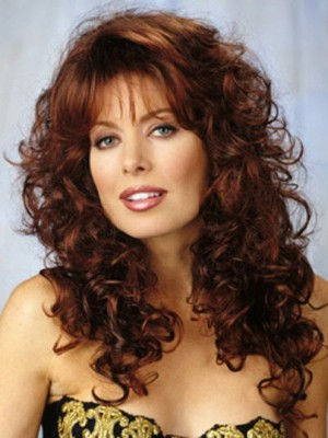 Attractive Capless Wavy Synthetic Wig