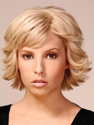 Fashion Capless Synthetic Wavy Wig