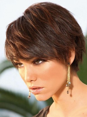Wonderful Capless Straight Synthetic Wig