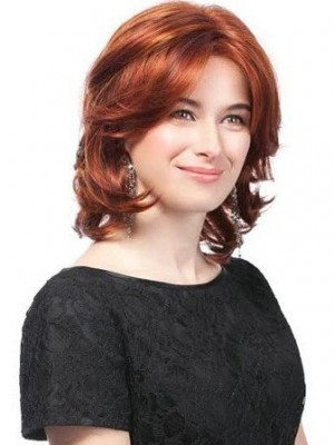 Classic Wavy Synthetic Lace Front Wig