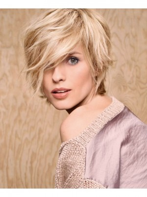 Comfortable Capless Straight Synthetic Wig