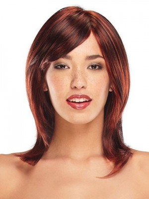Good Looking Spunky Front Lace Synthetic Wig