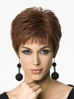 Attractive Capless Straight Synthetic Wig