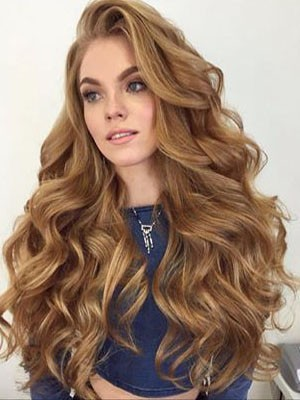 Chic Lace Front Wavy Synthetic Wig
