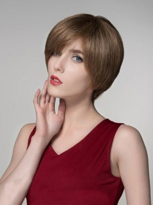 Sweet Capless Straight Synthetic Wig