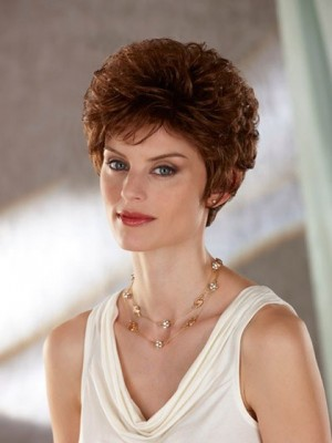 Classic New Arrival Short Fluffy Synthetic Wig