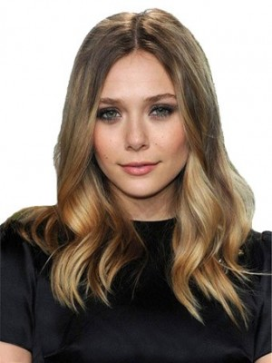 Elaborately Lace Front Wavy Synthetic Wig