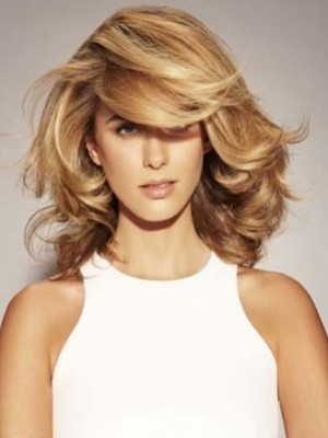 Wonderful Synthetic Capless Wavy Wig