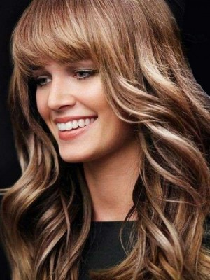 Charming Capless Wavy Synthetic Wig