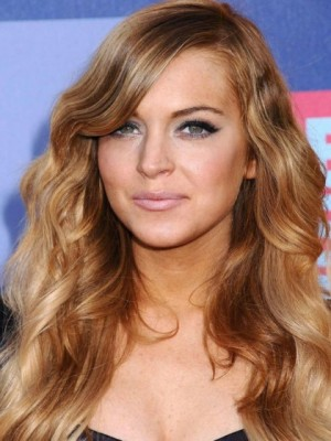 Gorgeous Lace Front Wavy Synthetic Wig