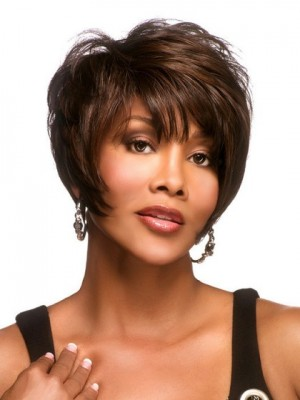 Adorable Synthetic Short Pixie Bob Wig