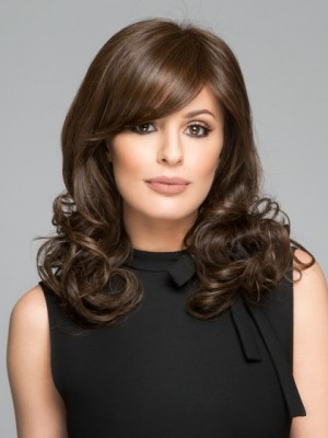 Lovely Synthetic Wavy Wig