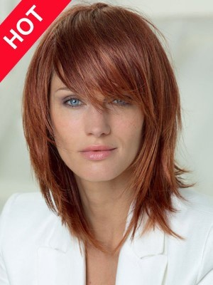 Popular Synthetic Lob Hairstyle Wig