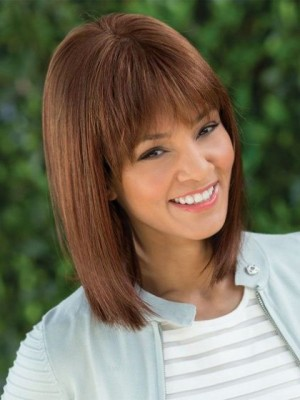 Affordable Capless Straight Synthetic Wig