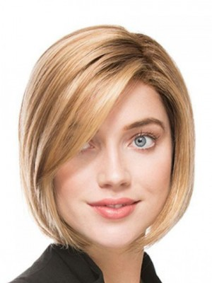 Glamorous Straight Synthetic Lace Front Wig