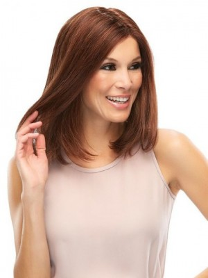 Natural Lace Front Synthetic Straight Wig