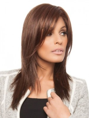 Charming Lace Front Straight Synthetic Wig